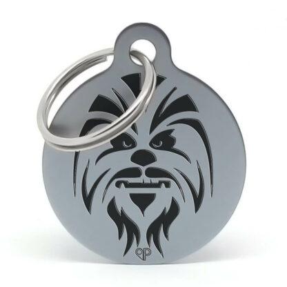 Placa para perro Chewbacca