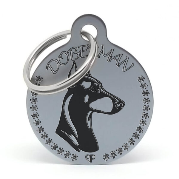 Placa raza perro - Doberman