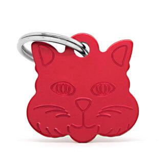 Placas para gatos cat face