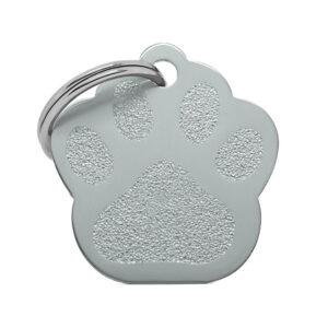 Placa para gato - Cat Paw (gris)