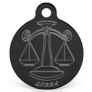 Llavero signo zodiaco libra