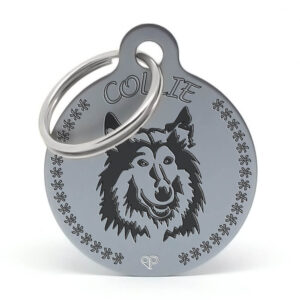 Placa raza perro - Collie