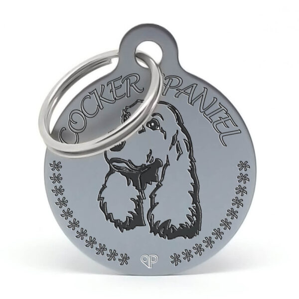 Placa raza perro - Cocker