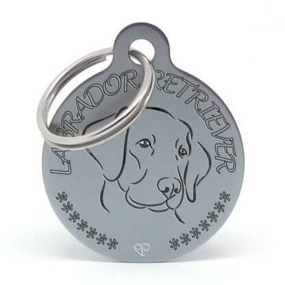 Placa raza perro - Labrador Retriever