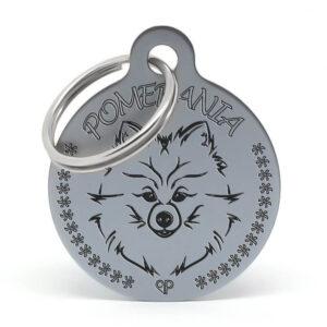 Placa raza perro - Pomerania