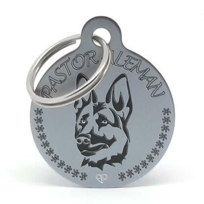 Placa raza perro - Pastor Alemán