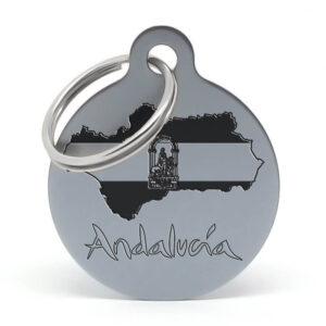 Placa para perro - Andalucía