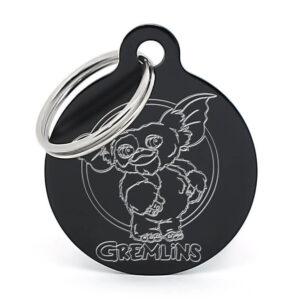 Placa para perro - Gizmo (negro)