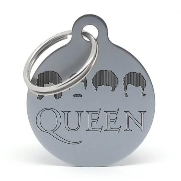 Placa para perro - Queen